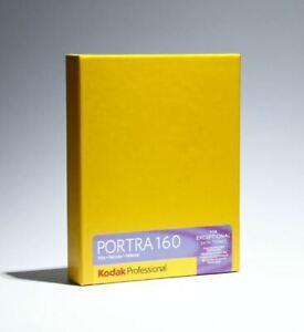 "Kodak 4 x 5"" Portra 160 Color Film 10 Sheets #1710516  FRESH DATING"