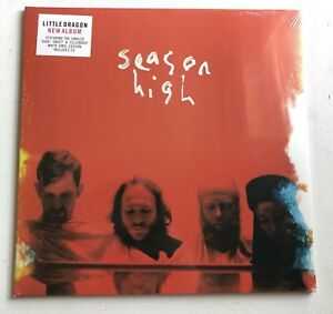LITTLE DRAGON Season High Ltd White LP Vinyl Sealed NEW