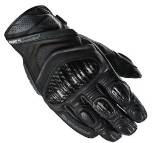 GUANTI GLOVES IN PELLE CARBO 4 COUPE' NERO SPIDI SIZE M