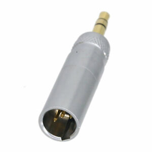"""DIY Adapter Mini-XLR TA4M to mini-jack 3.5mm 1/8"""" for audio wireless Microphones"""