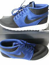 Nike ID Mens Rosherun Mid Trainers 653665 Sneakers 991 (Size UK 9.5 / US 10.5)