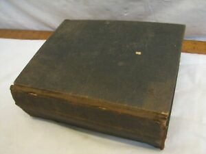 Antique German New/Old Testament Bible 1797 Book Imprint Martin Luther