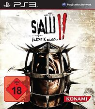 Sony PS3 Playstation 3 Spiel ***** SAW II 2 Flesh and Blood **********NEU*NEW*18