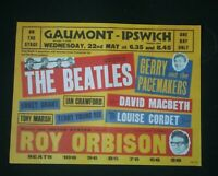 THE BEATLES POSTER MAY 22ND 1963 GAUMONT IPSWICH *(SEE DESCRIPTION AND PHOTO'S)*