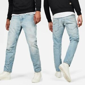 G-STAR Raw Arc 3D NEW Relaxed Tapered Men's Jeans Blue Size 28x32 RRP $250