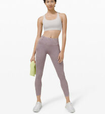 "NWT lululemon leggings Free Tight II 25"" Ice Dye *Non-Reflective Size 8"