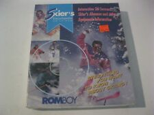 Skier's Encyclopedia On CD-ROM new sealed Romboy