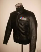 vintage MOTODRESS Motorradjacke oldschool racing motorcycle 80s jacket 52