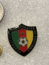 Cameroon National Soccer Football Team Lapel Pin Free Ship in Usa