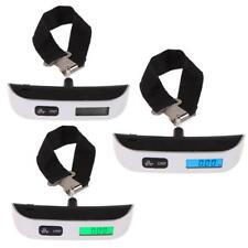 Portable 110LB/50KG LCD Digital Hanging Luggage Suitcase Scale Electronic Weight