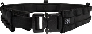 Grey Ghost Gear UGF Battle Belt with Padded Inner Medium - Black