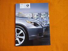USA BMW 5er E60 US Katalog Prospekt 525i 530xi 550i catalog brochure catalogo