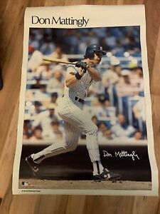 Vintage Don Mattingly Sports Illustrates Poster New York Yankees 24x36