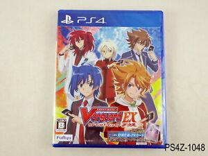New Cardfight Vanguard EX Playstation 4 Japanese Import PS4 Japan JP US Seller