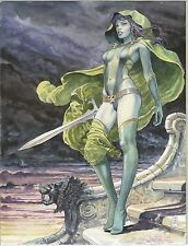 GAMORA POSTER by MILO MANARA 24x36 BRAND NEW ROLLED IN TUBE COMIC KINGS