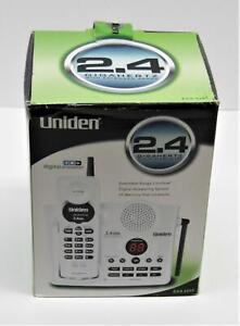 Uniden EXA 3245 2.4 GHZ Cordless Phone Digital Answerer New Unused Open Box