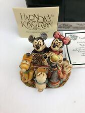 Harmony Kingdom Disney Patriotic Picnic Mickey Le 500 Disnay Auctions Exclusive