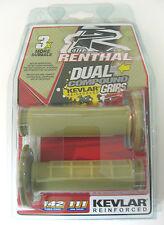 Renthal Half Waffle Dual Compound Grips Kevlar SX EXC YZF RMZ WR KX KXF CRF NEW
