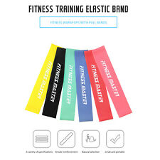 Resistance Bands Loop Power Band Exercise Crossfit Strength Fitness GYM Yoga