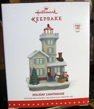 Hallmark Ornament Holiday Lighthouse 4Th In The Series Nib 2015