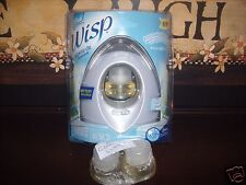 Glade Wisp Automatically Puffs Fragrancer CLEAN LINEN Scented Oil Refills