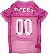 Ncaa Dog Pink Football Jersey - Pet Pink Sports Costume Outfit Clothes Clothing