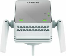 Netgear EX2700-100UKS Mini 300 Mbps WiFi Range Extender (Wi-fi Booster) - Plata