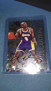 Kobe Bryant RC Auto 1996-97 Fleer Metal #181 Rookie Autograph Stamped Rare
