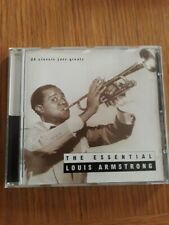 LOUIS ARMSTRONG - The essential - CD album  FREE POSTAGE UK