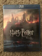 Harry Potter Deathly Hallows Part 2 Blu Ray