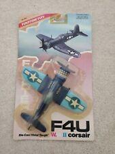 1988 Tootsie Toy,F4U WWII Corsair Fighter,Die Cast Metal,Sealed Package,NOS,NIP