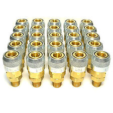 """25 Foster Quick Connect 1/4"""" Aro Male NPT Air Hose Coupler - 776 A Milton Style"""
