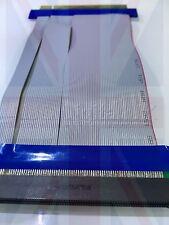 PCI-EXPRESS PCI-E 16X Riser Card Flexible Flex Ribbon Extender Cable Adapter HQ