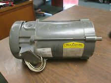 Baldor DC Motor CD3450 0.5HP 1750RPM 56C Frame ARM:90V 5.2A Field:100/50V 0.5/1A