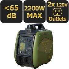 Digital Inverter Generator 2,200/1,800-Watt Gasoline Powered Recoil Start Type