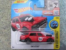 Hot wheels 2016 #172/250 temps attaxi rouge taxi hw city works case k nouveau modèle
