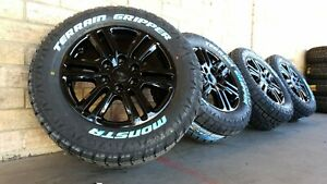 Ford Ranger Wildtrak Genuine Wheels and All Terrain Tyres 2656018 New Set of 4