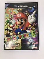 MARIOPARTY 6 Nintendo Gamecube- Rated Everyone -TESTED & COMPLETE