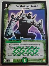 Earthstomp Giant - Super Rare Holo - 2004 Duel Masters Trading Card - WOTC