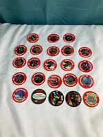 Lot of 23 Kawasaki Official Slammer Whammers  Pogs 94 Collection game VTG FS