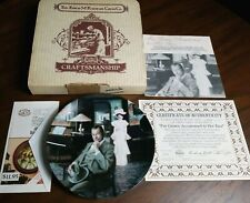 "Norman Rockwell Knowles Collector Plate ""I've Grown Accustomed to Her Face"" 1990"