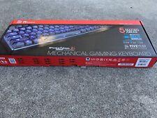 Brand New Tt eSPORTS POSEIDON Z RGB SWITCH Mechanical Gaming keyboard