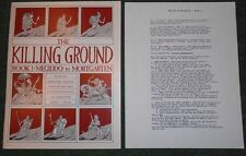 CSS-The Killing Ground Book 1:Megiddo to Mortgarten-Rules for Miniature Warfare