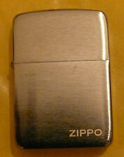 PLAIN 1941 REPLICA BLACK ICE WITH LOGO ZIPPO LIGHTER FREE P&P FREE FLINTS