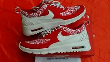 NEW NIKE AIR MAX THEA SE (GS) YOUTH SIZE 6 Y RED WHITE RUNNING WALKING SHOES