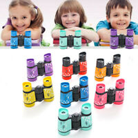 Gift For Kids Rubber Telescope Binoculars For Children Pocket Rubber Telescope