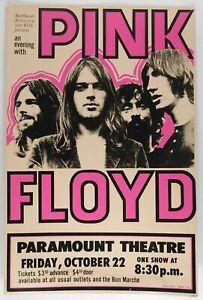 Supremes 1965 Concert VINTAGE BAND POSTERS Rock Travel Old Advert #ob