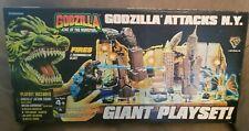Godzilla Attacks New York Giant Playset Trendmasters Mecha-Ghidorah 1994 SEALED