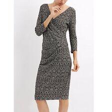 V Neck Wrap Business Dresses
