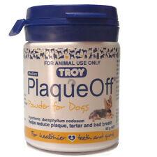 Plaque Off For Dogs Teeth Gums bad breath tartar gingivitis 40g FREE POSTAGE